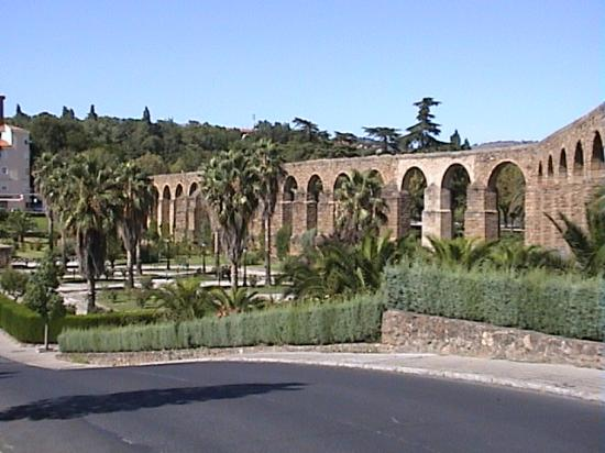 The Plasencia  Roman Aquaduct