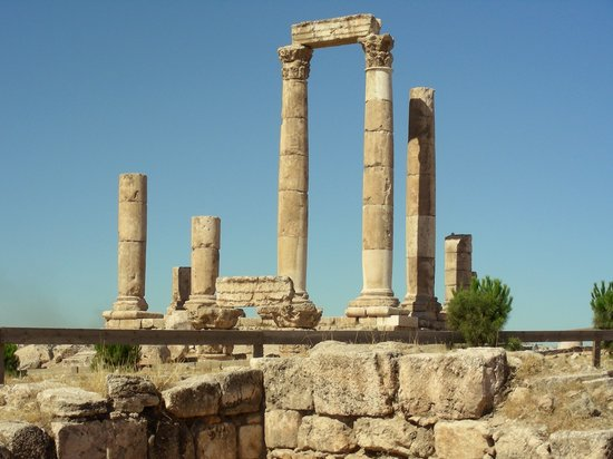 Jordan: Hercules Temple in Amman