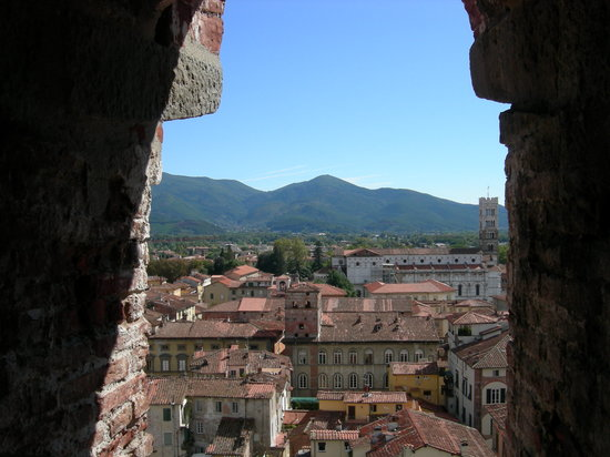 Alla Corte Degli Angeli : climbing the town tower 