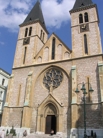 Sarajevo, Bosnie-Herzgovine : Catholic Cathedral 