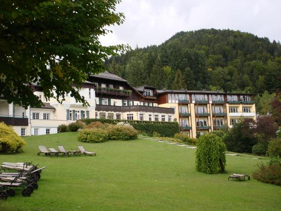 St Gilgen, Austria: A view of the hotel