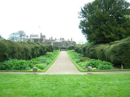 Deal, UK: Walmer Castle and Gardens, Kent, England