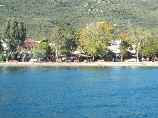 Hotel Pegasus: Kala nera from the sea