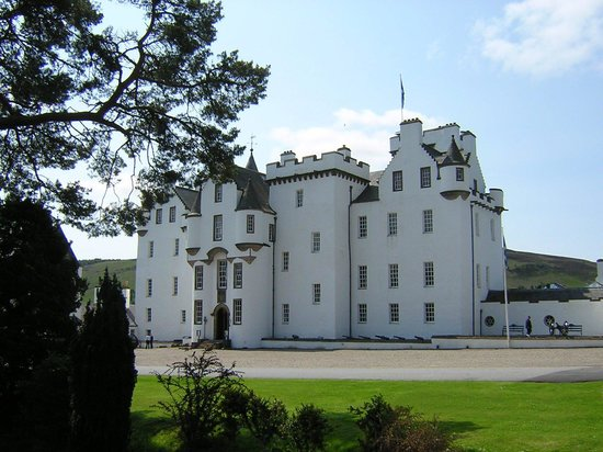 Pitlochry, UK: Blair Castle, Edinburgh, Scotland, United Kingdom