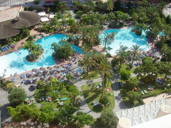 View Of The Pool From 12th Floor Picture Of Melia