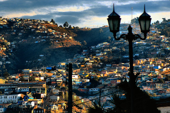 Parte de la ciudad de Valparaiso
