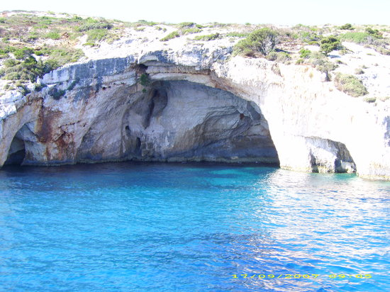 Kalamaki, Greece: Blue Cave