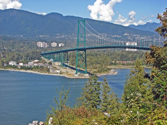Vancouver, Canada: View from Standley Park