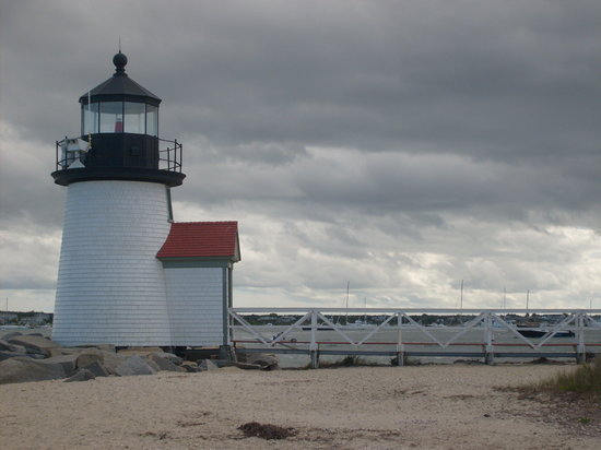 Nantucket, MA: Just a short walk to Brant Point Lighthouse