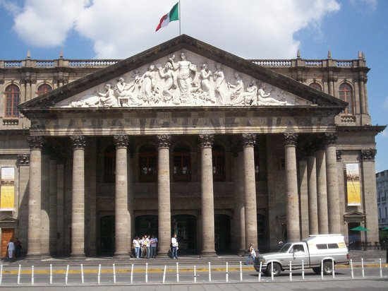 Guadalajara, Mexique : Degollado Theater