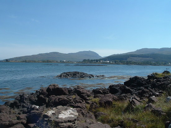 Isle of Mull, UK: Salen Bay and the Sound of Mull