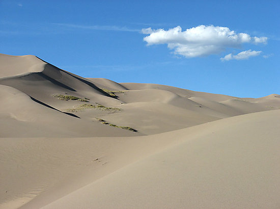 Alamosa, Колорадо: Great Sand Dunes National Monument
