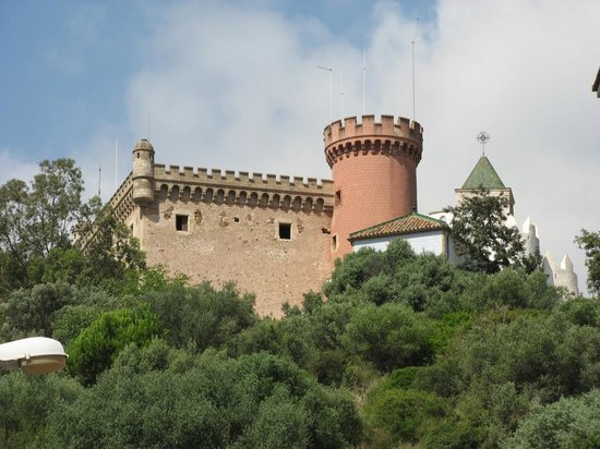 Castelldefels, Spain: the castle