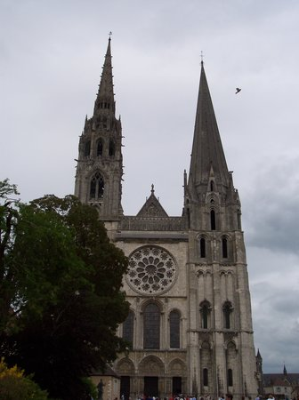 West entrance of Chartres Cathedral