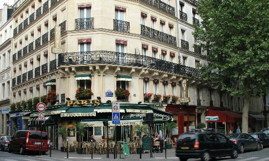 Hotel from ave st germaine picture of hotel abbatial for Hotel saint germain paris
