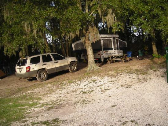 Rivers End Campground and RV Park: The site we stayed on, #70
