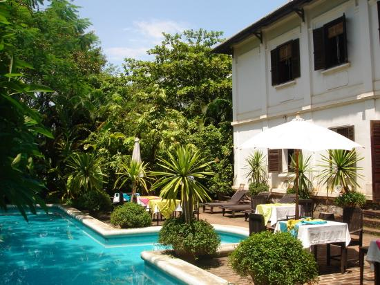 Satri House And Pool Picture Of Satri House Luang Prabang Tripadvisor