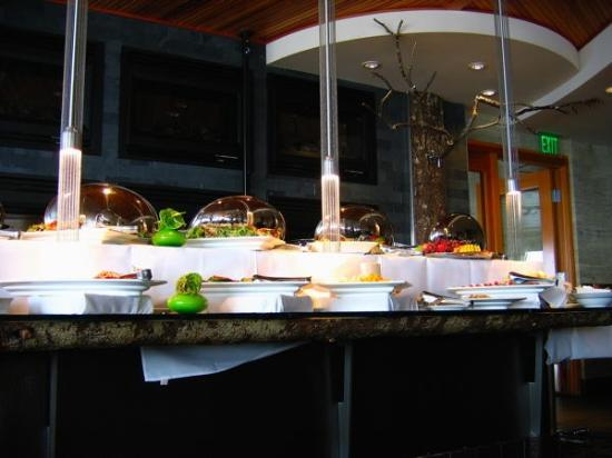 Six Seven Buffet Table Picture Of The Edgewater Hotel