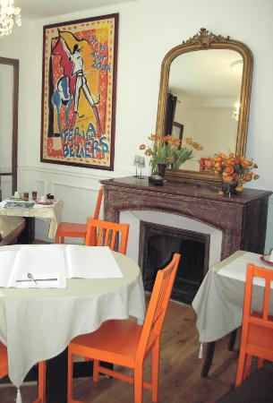 Hotel des Poetes: Breakfast Room