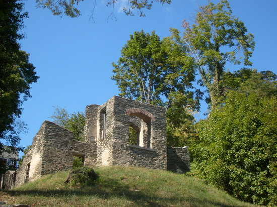 Harpers Ferry, Virginie-Occidentale : Church ruins