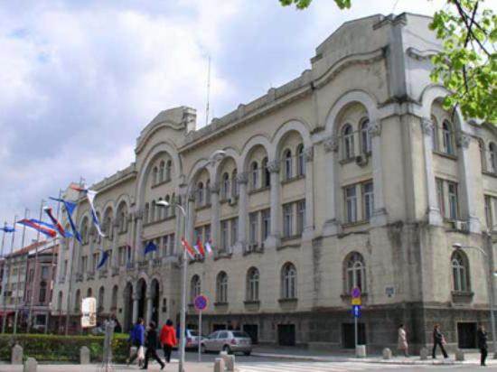 Banja Luka, Bosnia and Herzegovina: City Hall Banya Luka,Republika Srpska
