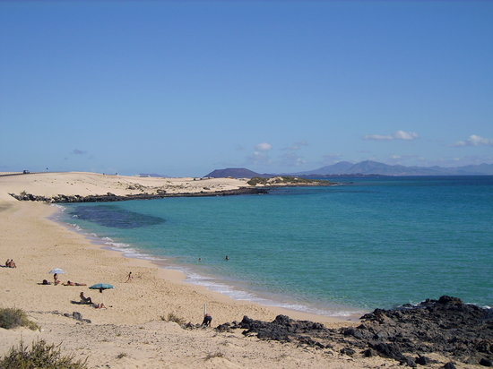 Corralejo, Spain: Stunning beach (Playa Alzada)