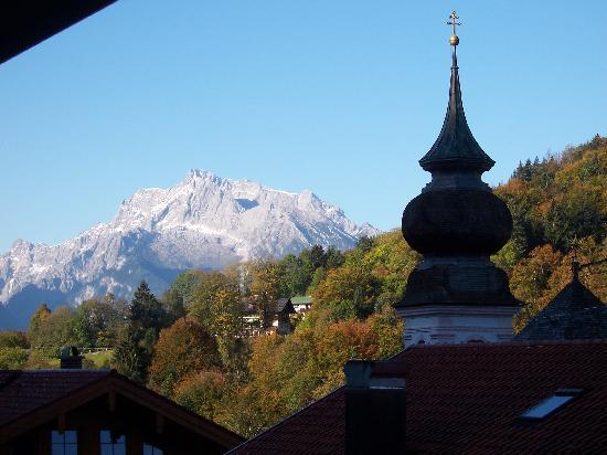 Hotel und Gasthaus Maria Gern: View from our balcony