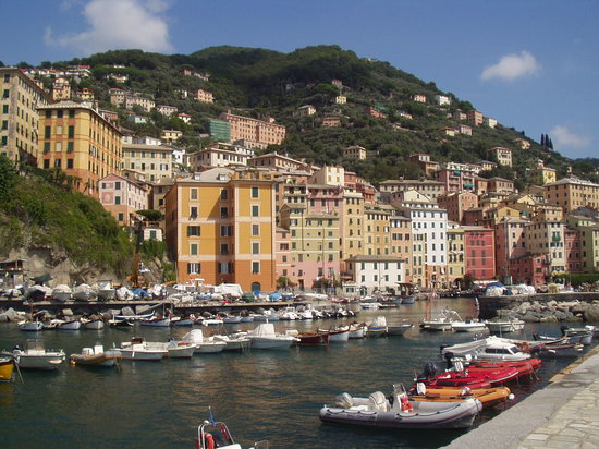 Camogli from its little port