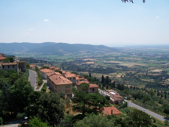 Arezzo, Italien: Hillside view