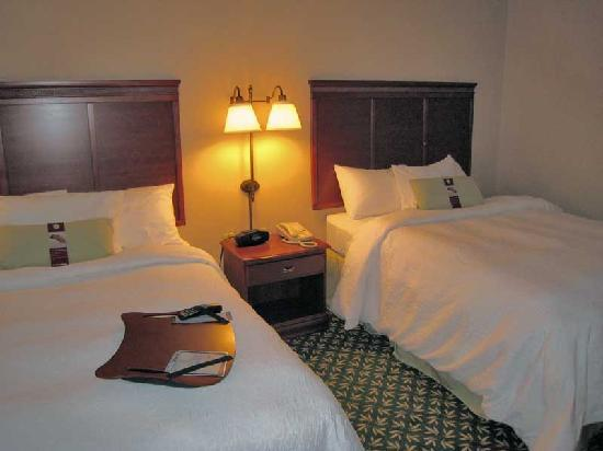 Hampton Inn &amp; Suites Greenfield: Beds
