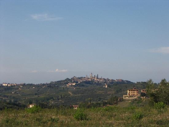 Fattoria Il Piano: view of san gim