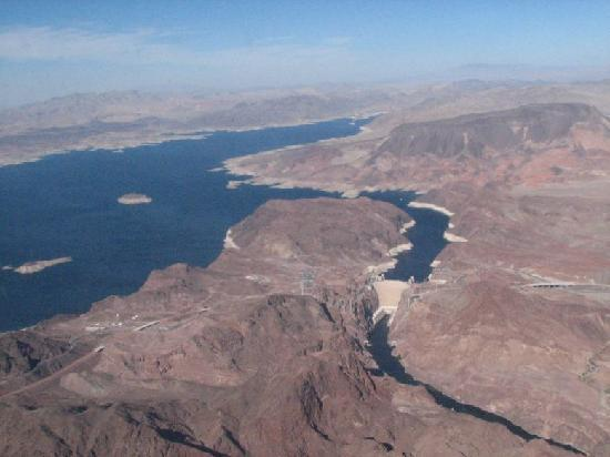 Lake Mead Hoover Dam Hoover Dam Lake Mead From
