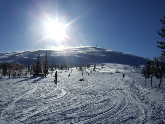 Lapland, Finland: The Mountain! in Yllas