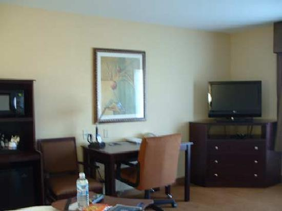 Hampton Inn &amp; Suites Rogers: Flat Panel HD