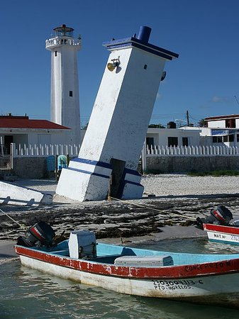 Puerto Morelos, Mexique : Lighthouse