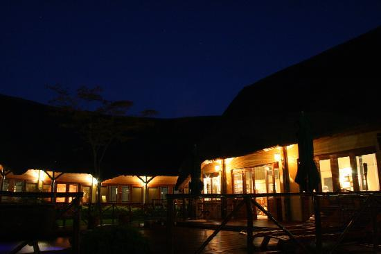 Sunset at Elephants Footprint Lodge