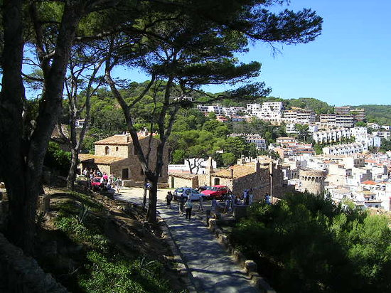 Tossa de Mar, Spain: View from the castle