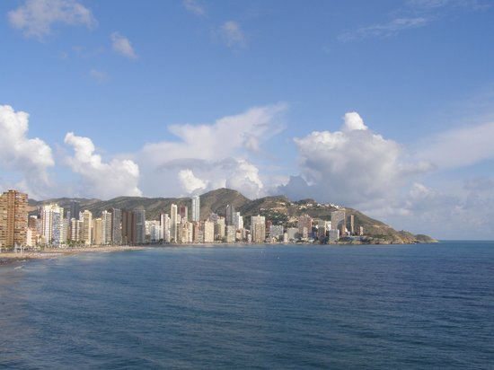 Benidorm, Espagne : Levante Beach 