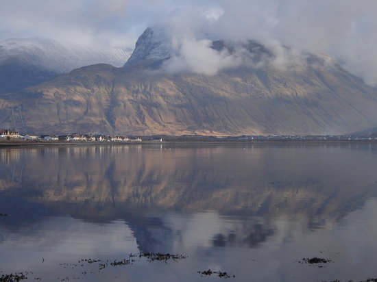 Fort William, UK: Early evening view from Loch Linhe