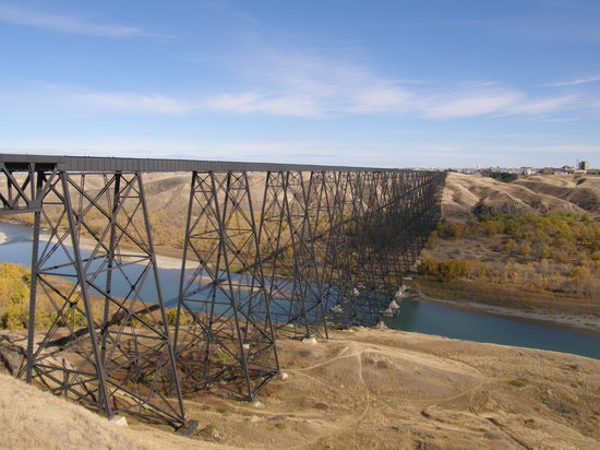 Lethbridge, Canada: a couple blocks from home