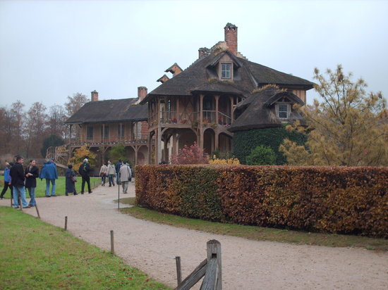 Versailles, Frankreich: Hameau-3