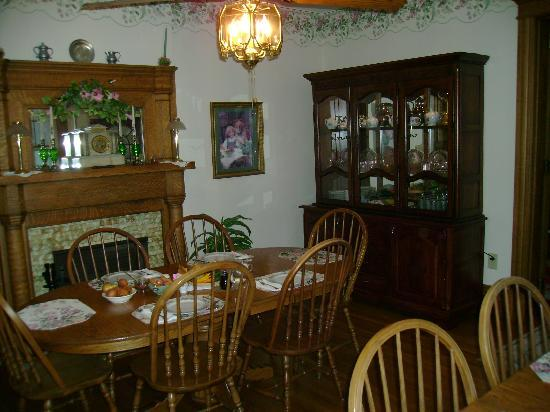 Keystone Inn Bed and Breakfast : Dining Room