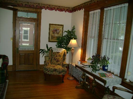Keystone Inn Bed and Breakfast : Sitting room