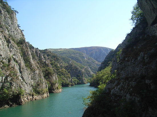 Skopje, Republika Macedonii: Lake Matka