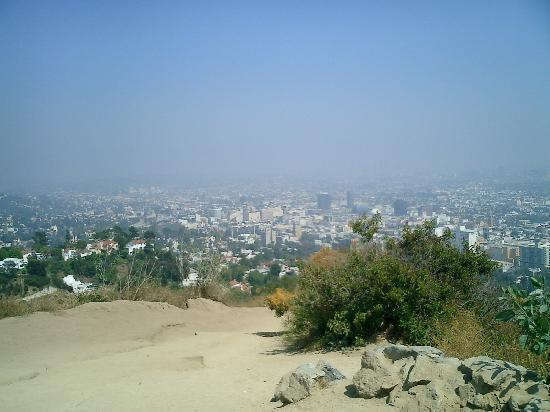 View from the top of Runyon Canyon. By eelizg. Houston, TX
