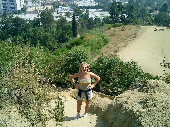 hiking in Runyon Canyon. By eelizg. Houston, TX
