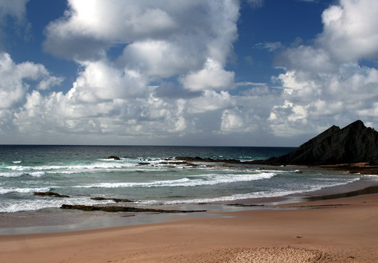 Portimao, Portugal: Atlantic coast near Algezur