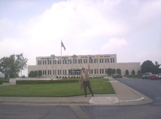 Steph In Front Of The Indiana State Museum Going To Attend