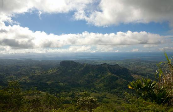 Lautoka, Fiji: View from the top