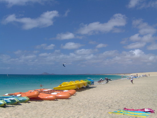 Santa Maria, Cape Verde: the beach